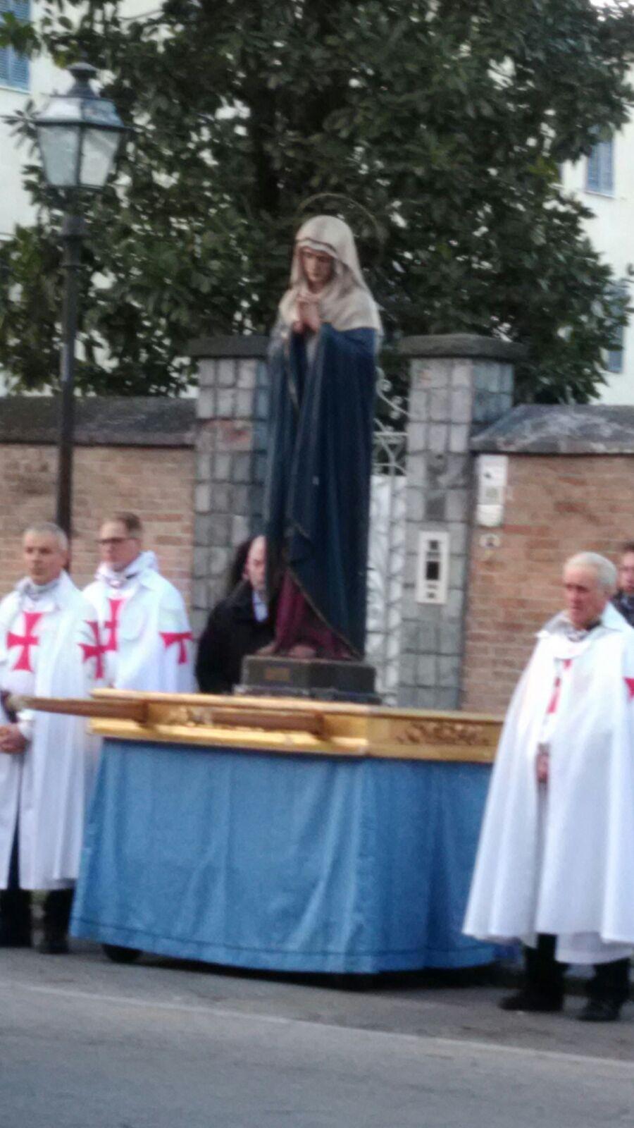 Soragna (PR) Chiesa B.V. del Carmine - Templari Cattolici foto6