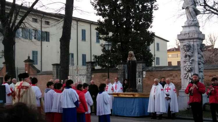 Soragna (PR) Chiesa B.V. del Carmine – Templari Cattolici foto7