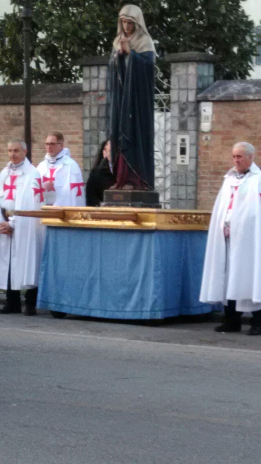 Soragna (PR) Chiesa B.V. del Carmine - Templari Cattolici foto8