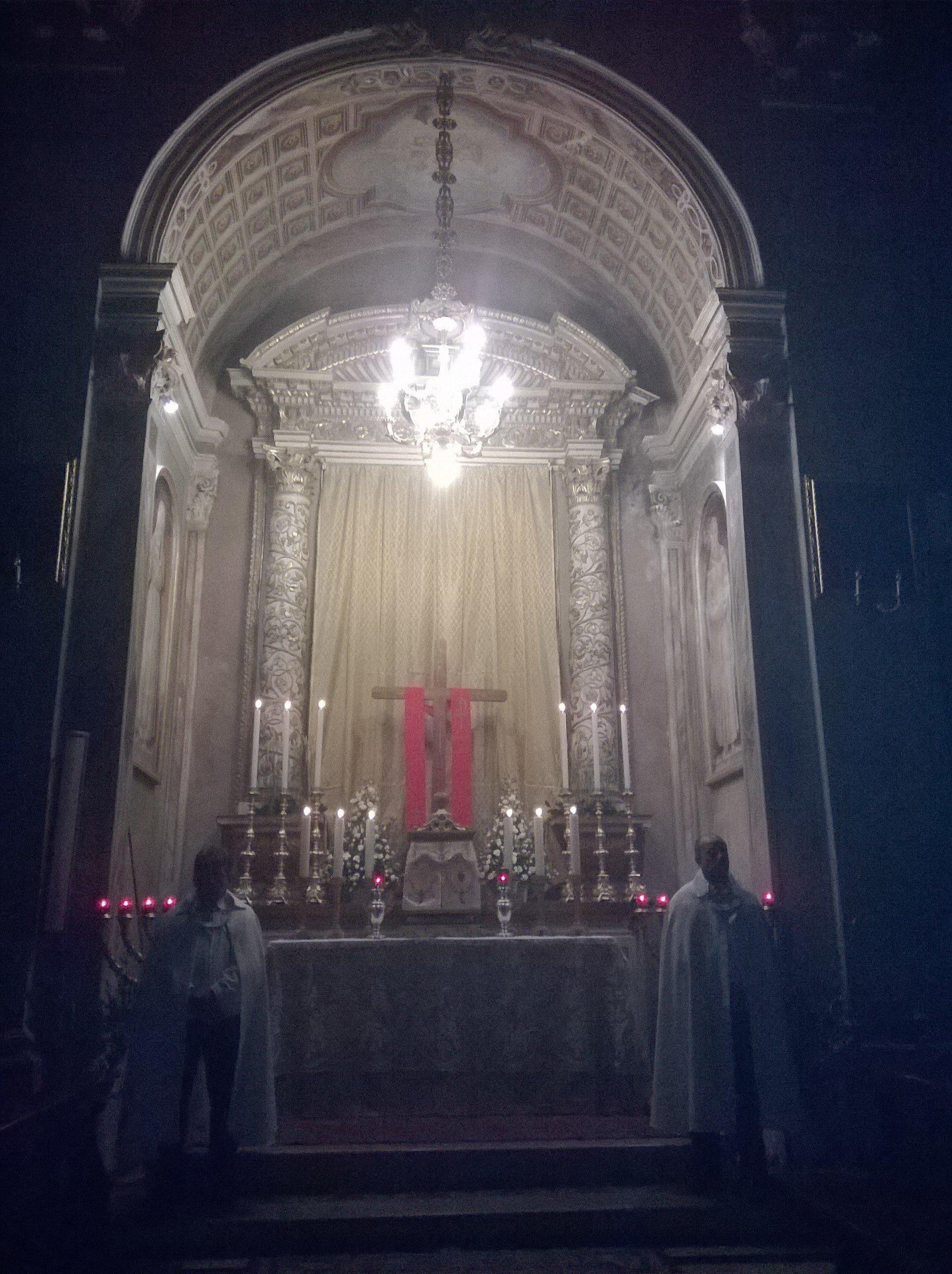templari cigole giovedi santo