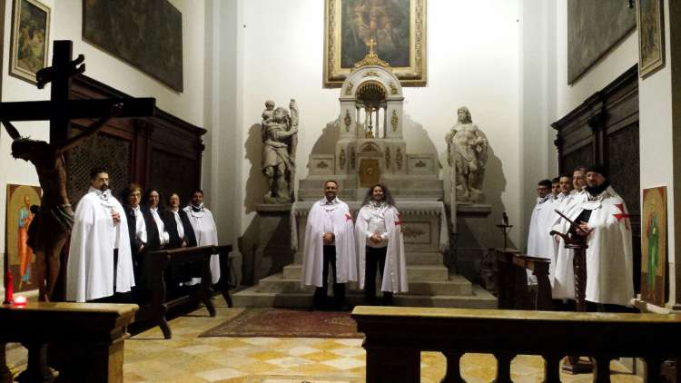 I Templari Cattolici d'Italia cudostodiscono la chiesa di San Cristoforo ad Udine.