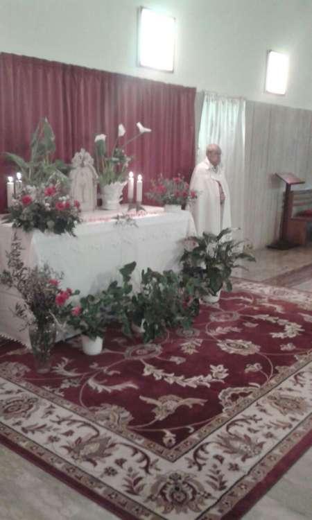 I Templari Cattolici d'Italia prestano servizio a Santa Rita ed Andrea a Trieste in occasione del Giovedì Santo.