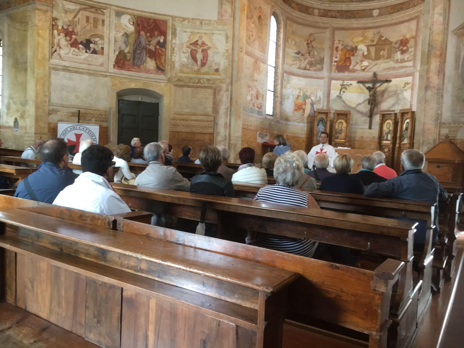 I Templari Cattolici d'Italia aprono in forma straordinaria la chiesa della Santissima Trinità a Pordenone