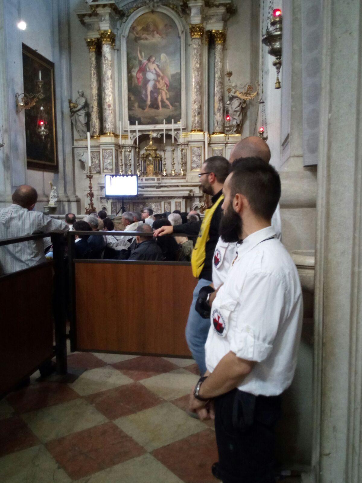 Templari Cattolici d'Italia con S.E. Mons. Pierantonio Tremolada Vescovo di Brescia