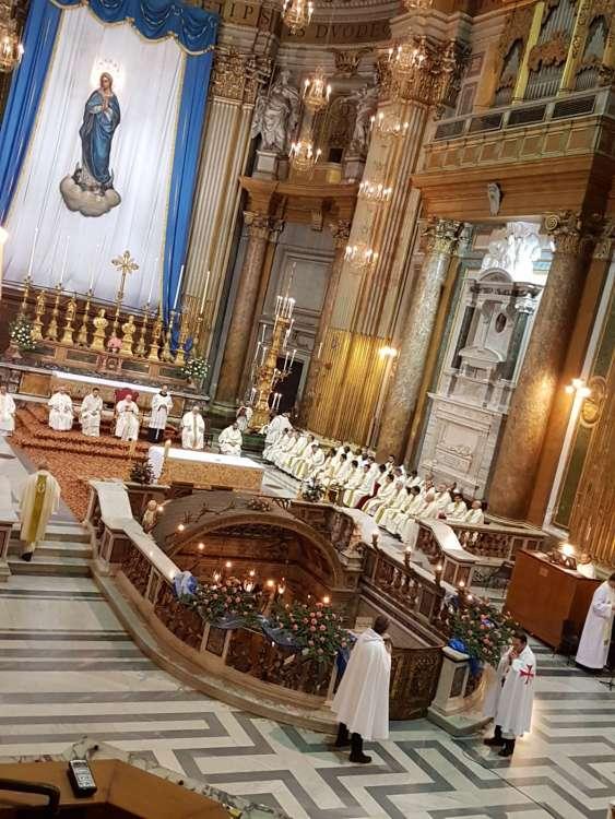 Santa Messa con S.Em. Giovan Battista Card. Re