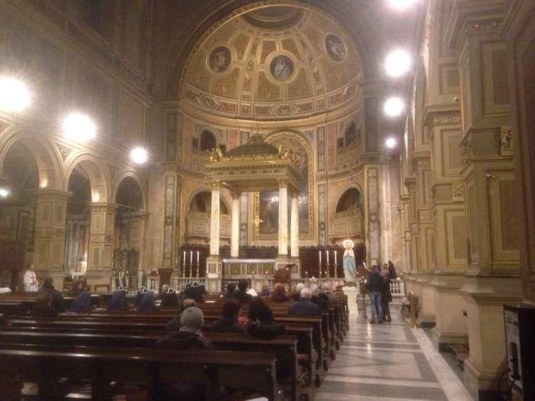 I Templari Cattolici d'Italia partecipano alla Celebrazione Quaresimale presieduta da S.E. Mons. Gianrico Ruzza, Vescovo Ausiliare per il settore Roma Centro.