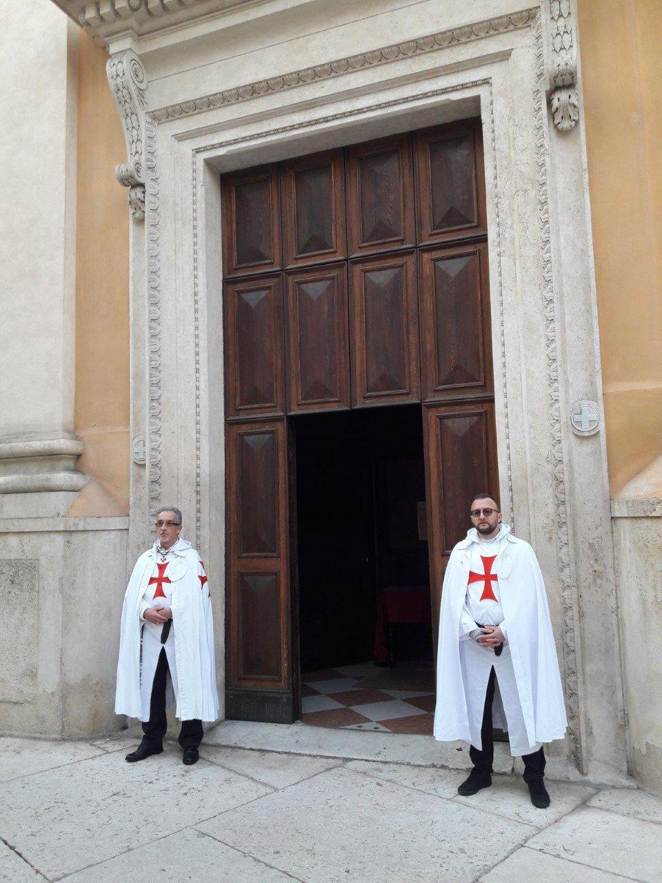 Templari santa maria del Paradiso Verona