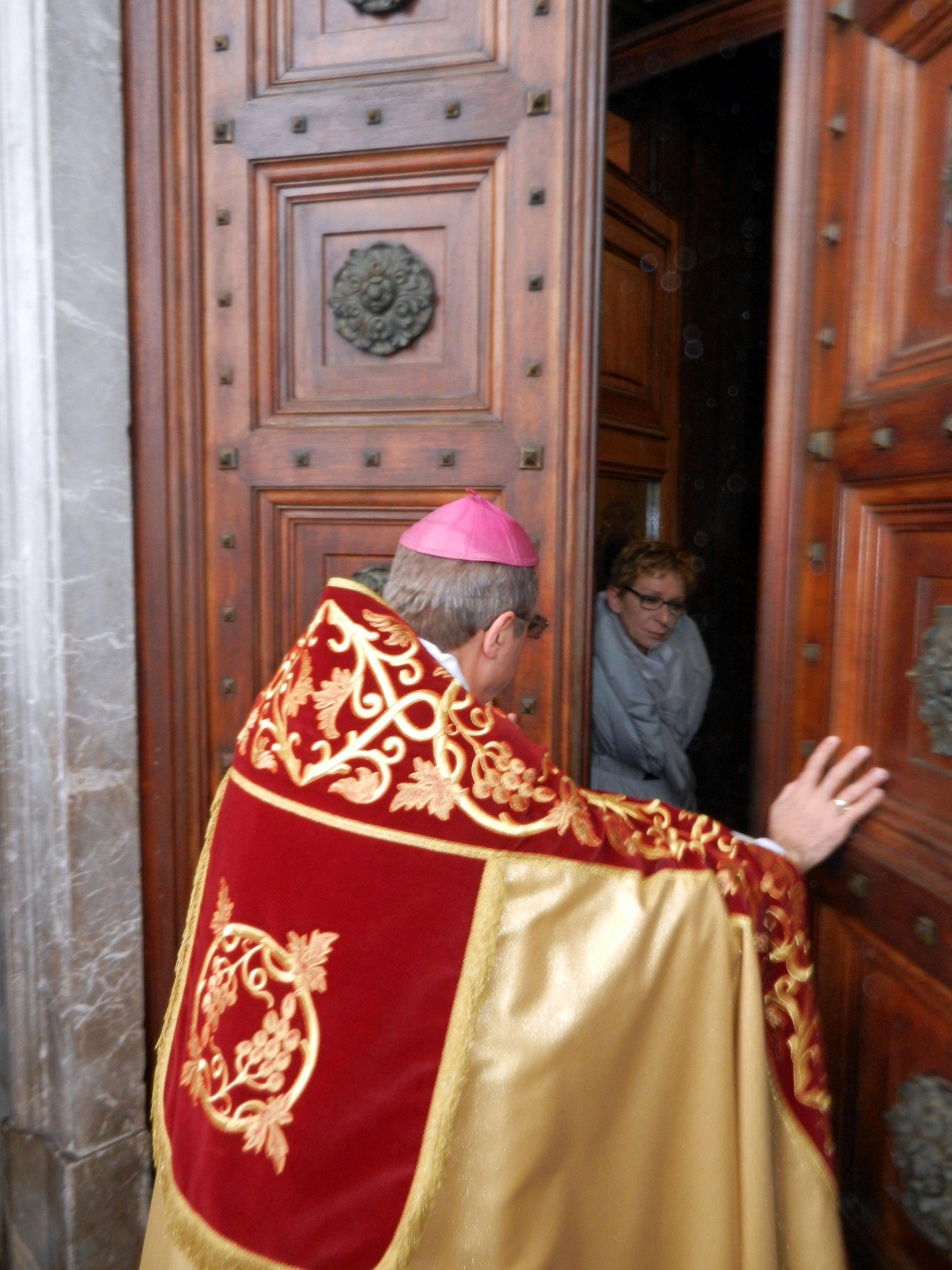 Templari Cattolici d'Italia e Mons. Enrico Solmi Vescovo di Parma