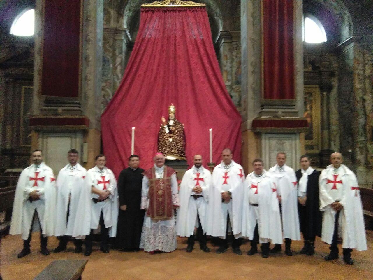 Templari Cattolici d'Italia con S.E. Mons. Gian Carlo Perego Vescovo di Ferrara-Comacchio e Abate di Pomposa