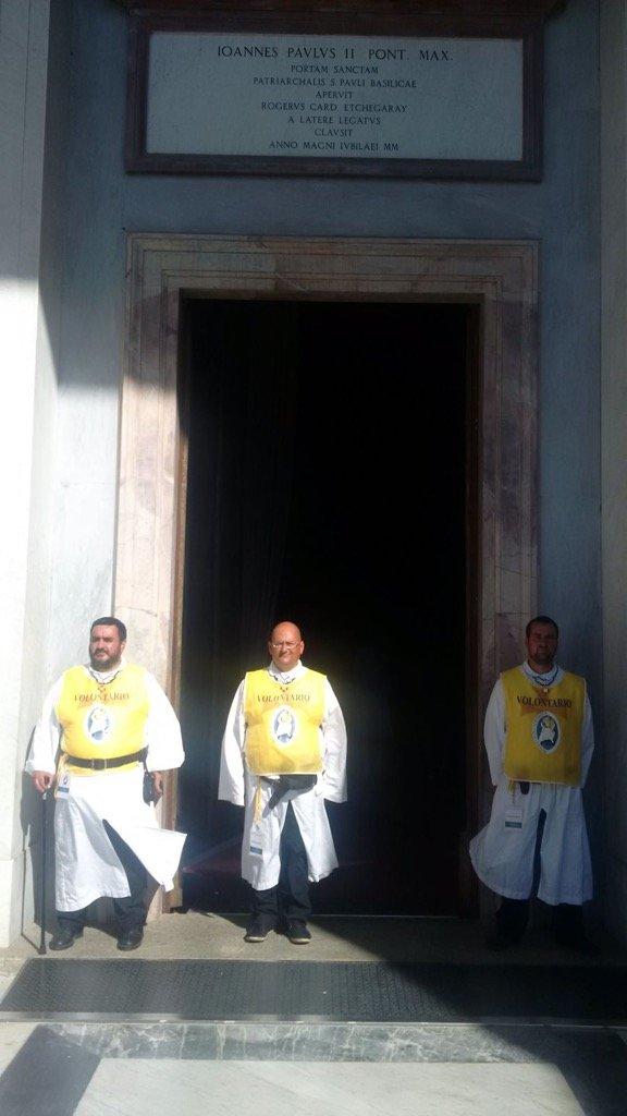 templari san paolo fuori le mura