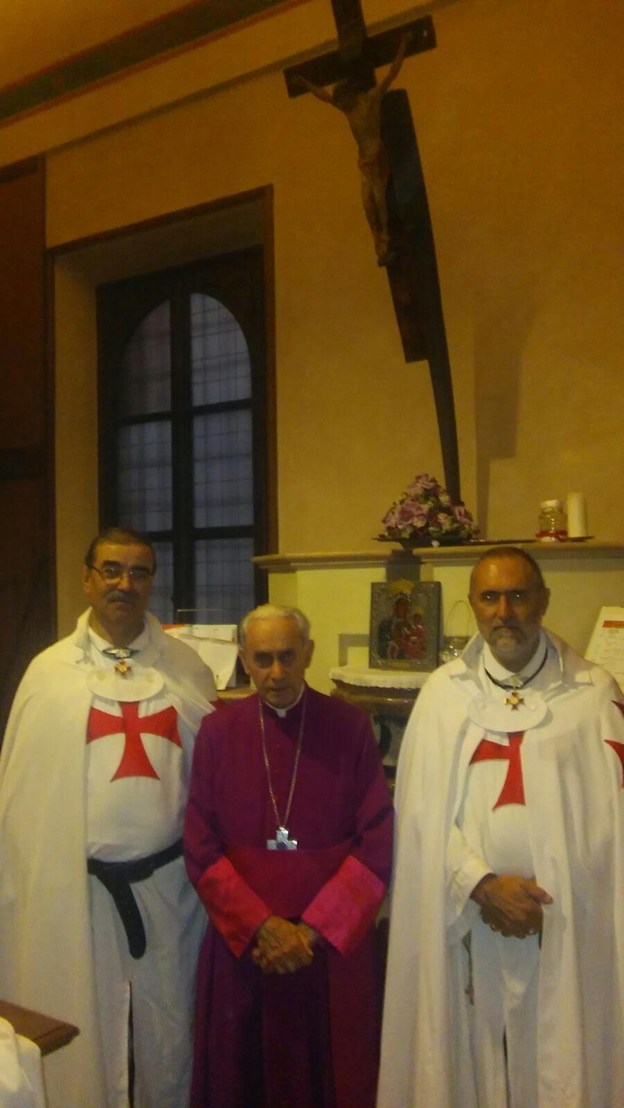 Templari Cattolici Vescovo Ferrari