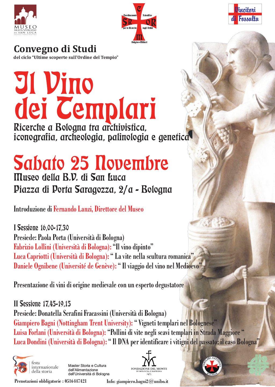 Il vino dei Templari