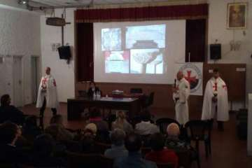 Templars from Italy present the Templars of Today in United Kingdom